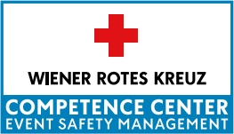 Logo Competence Center Event Safety Management Wiener Rotes Kreuz